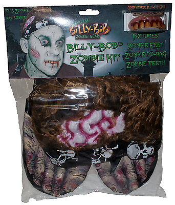 Billy Bob Instant Zombie Costume Kit Adult One Size
