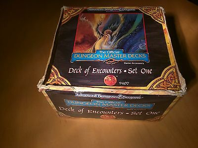 Deck of Encounters Set 1 Dungeons Dragons The Official Dungeon Master Decks 9407