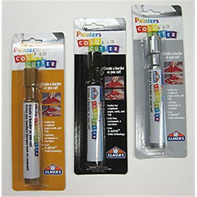 Art Supplies W7609 Painters Color Cutters Silver