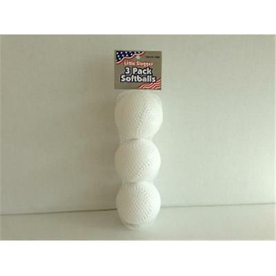 BLINKY 7820 3 Pack Soft Balls -Pack of 24