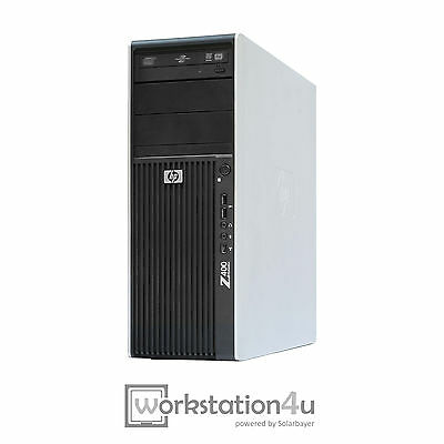 HP Z400 Workstation Hexa-Core X5650 CPU Ram 12GB SSD 256GB Quadro 600 Windows 7
