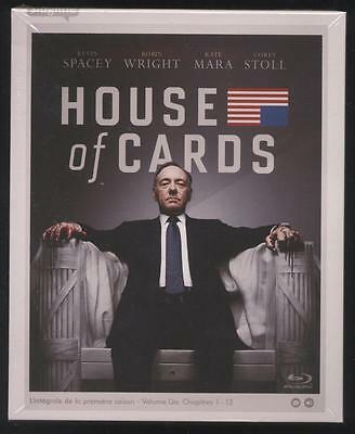Neuf Blu Ray House Of Cards L Integrale Saison 1 Sous Blister Serie Tv 11H14