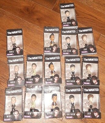 The Wanted Celebz 8Cm Mini Figures Job Lot Bundle Of 15 All New & Unused