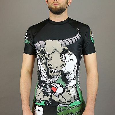 Gawakoto Kalabaw Rash Guard Size Large - MMA BJJ Fight No Gi Compression Wear