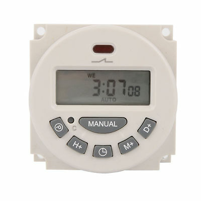 L701 Digital LCD Power Programmable Timer Switch Controller 12V For Lights TH281