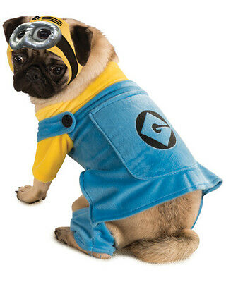 Classic Yellow Minion Despicable Me Pet Dog Costumes