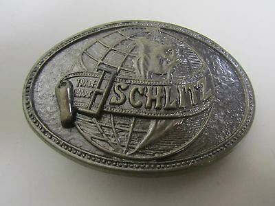 Vintage Schlitz Malt Liquor Beer Belt Buckle