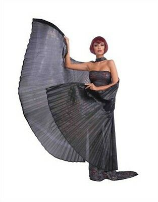 Adult Costume Accessory Black Egyptian Gothic Vampire Bat Wings