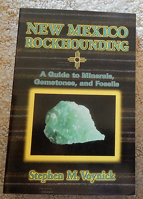 """New Mexico Rockhounding"" Book - New"