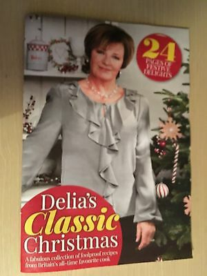 New Daily Mail 24 Page Delia Smith Pullout - Delia's Classic Christmas - Recipes