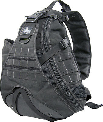 "Maxpedition MX410B Monsoon Gearslinger Black Approx. 16"" x 20.5"" x 5.5"" Large"