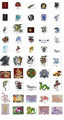 30 Personalized Dragons address labels Buy 3 get 1 free (dr1)