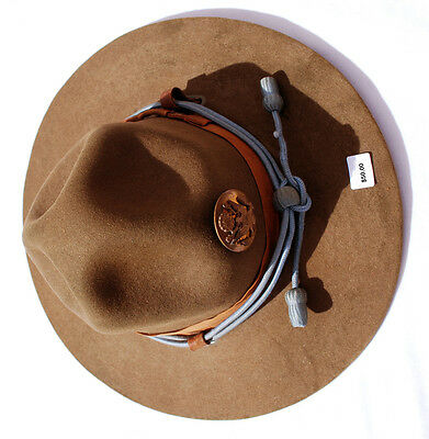 WWII Peak Hat with Infantry Cord & Insignia, Named
