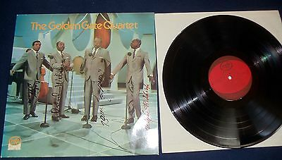 "The Golden Gate Quartet    12"" LP ""SAME"" RAR  (4 x Cover  signiert) MFP Germany"