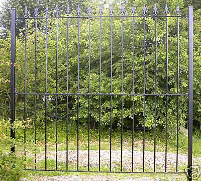 6Ft Wrought Iron Metal Fencing/railings Panel Railing