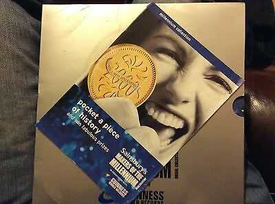 Sainsbury's Makers Of The Millenium Sleeve, Book, 21 Medals