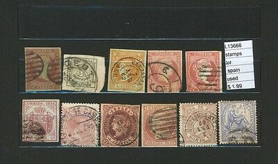 Stamps Lot Spain   Used  (L13666)
