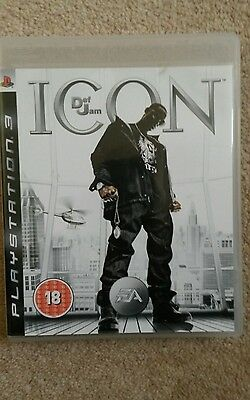 Def Jam Icon for Sony PlayStation 3 PS3