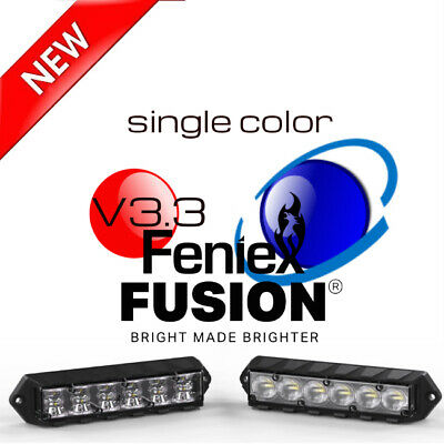 Feniex Fusion LED Surface Mount Single Color Lights