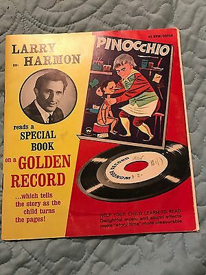 Vintage Pinocchio On Golden Recond Read By Larry Harmon