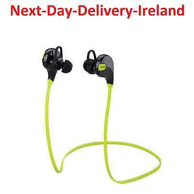 Bluetooth Wireless Headset Earphones Earphone Gym Sport Mic Microphone Handsfree