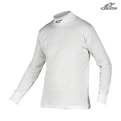 Alpinestars RACE Longsleeve Top white (with FIA homologation) - Genuine - L