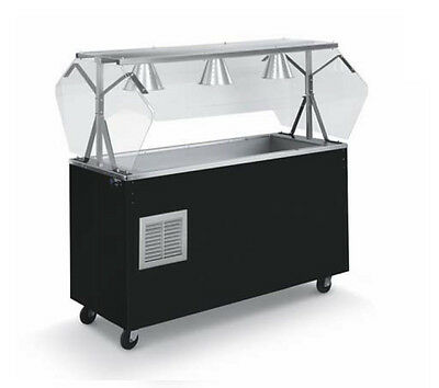 """Vollrath R39714 Affordable Portable™ 46"""" (3) Well Cold Cafeteria Station"""