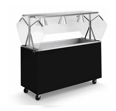 """Vollrath 3896060 Affordable Portable™ 60"""" (4) Well Cold Food Station"""