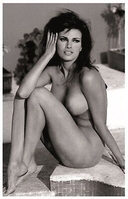Sexy RAQUEL WELCH actress PIN UP PHOTO postcard - Publisher RWP 2003 (25)