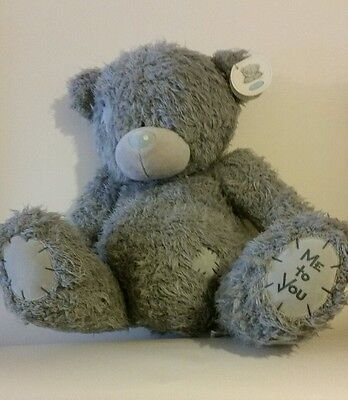 """""""Me to you"""" TATTY TEDDY BEAR. LARGE 14 INCH. WITH TAGS."""