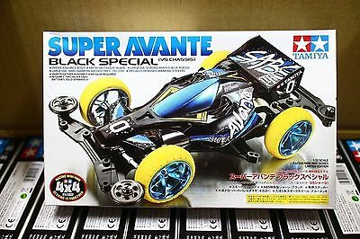 Tamiya 95078 1/32 Mini 4wd Super Avante Black Special Limited VS Chassis