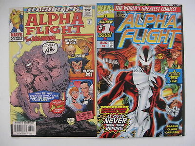 *ALPHA FLIGHT V. 2/3 LOT 33 Books