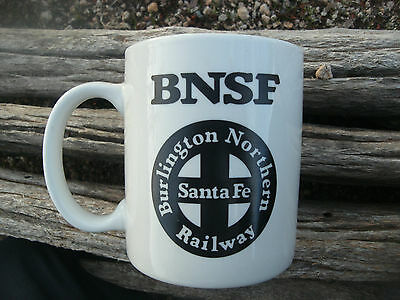 Railroad Burlington Northern Santa Fe Railway Mug Operation Lifesaver