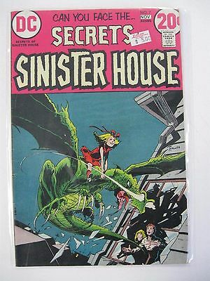 *SECRETS OF SINISTER HOUSE LOT 6 Books Guide $42