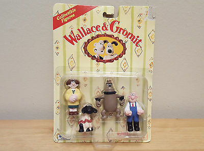Wallace & Gromit Collectable Figures 1989