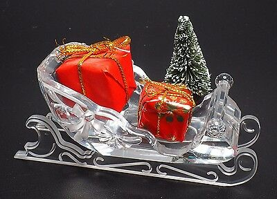 Swarovski Sleigh With Box And Certificate Retired 2005