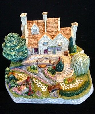 David Winter ~ WILLOW GARDENS ~  HUGE ~ MIB ~ COA ~ EXTREMELY COLORFUL !!!