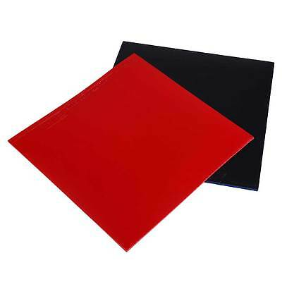 2Pcs Table Tennis Racket Pips In PingPong Rubber Red/Black High Quality