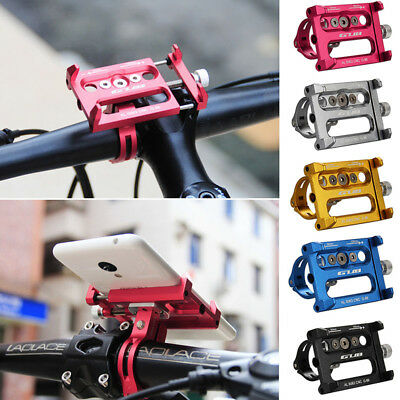 Metal Bike Bicycle Phone Holder Motorcycle Handle Mount For iPhone Cellphone GPS