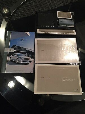 2005 infiniti g35 owners manual with nav