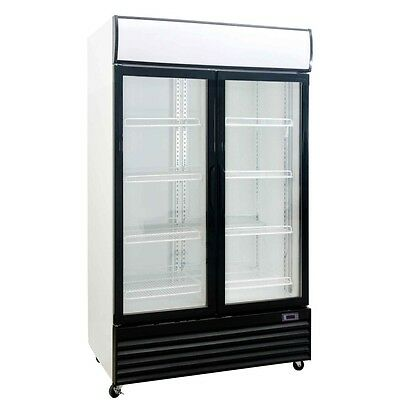Commercial 2 Door Fridge