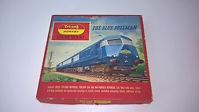 Vintage Model Train Set - Tri-ang Hornby BLUE PULLMAN RS.52 1967