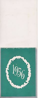 Rare 1956 Advertising Calendar Alstadt & Langlas Baking Co Waterloo Iowa Ia Nice