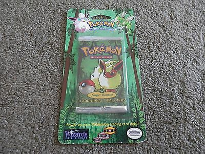 SEALED Pokemon TCG Jungle Blister Booster Pack 1999 Wizards of the Coast Flareon