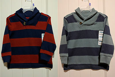 NWT Old Navy Toddler Boys Shawl Collared Long Sleeve Cardigan Sweater 12-18M -5T