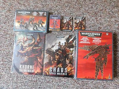 Warhammer 40k Chaos Space Marines Lot