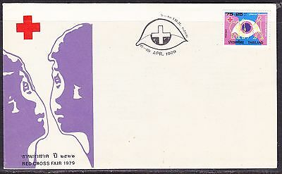 Thailand 1979 Red Cross Fair #1 First Day Cover - Unaddressed