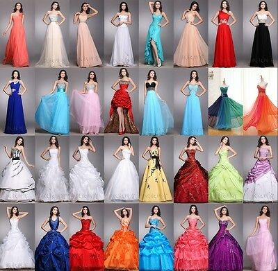 Long Formal Prom Dress Cocktail Party Ball Gown Evening Bridesmaid Dress 6-18