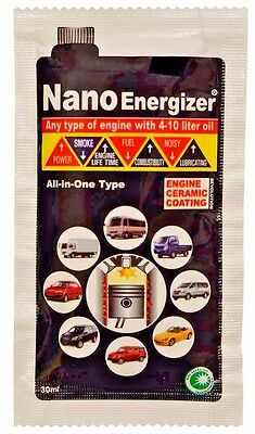 NanoEnergizer Engine Oil Additive - Protect Your Car/Motorbike Engine, Save Fuel