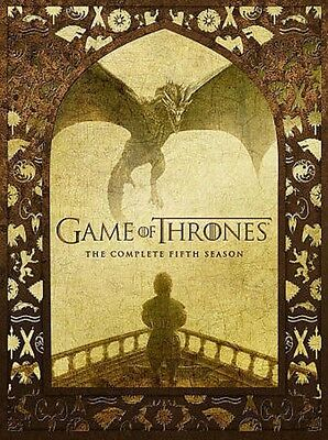 Game of Thrones  The Complete Fifth Season 5 (DVD, 2016, 5-Disc Set)